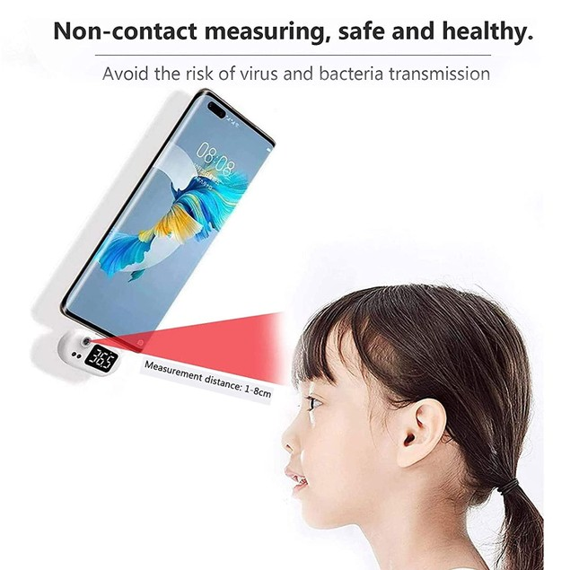 Pocket Infrared Smartphone Thermometer