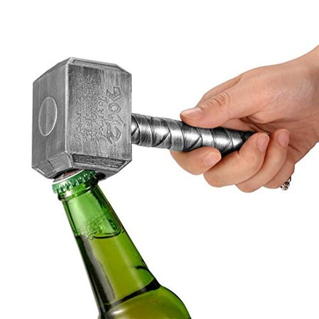 Super Hero Inspired Hammer Mjolnir Bottle Opener