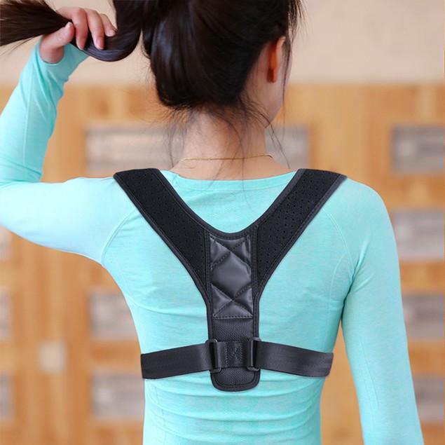 Adjustable Back Posture Corrector Shoulder Straight Support Brace Belt Men Women