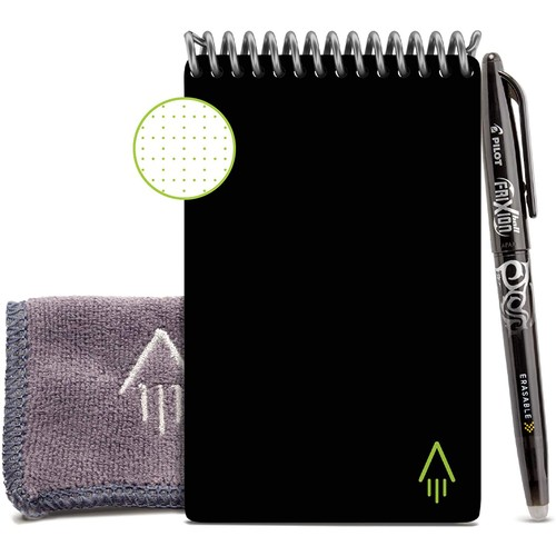 Rocketbook Mini Smart Reusable Notebook with 1 FriXion Pen
