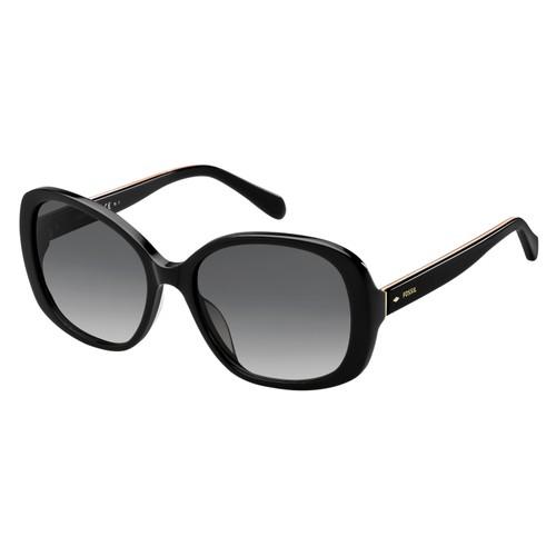 Fossil Women Sunglasses FOS2059S 807 Black 57 18 140 Butterfly
