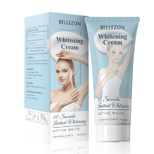 Body Whitening Cream 60ml for Armpit Lightening Legs Knees Private Parts