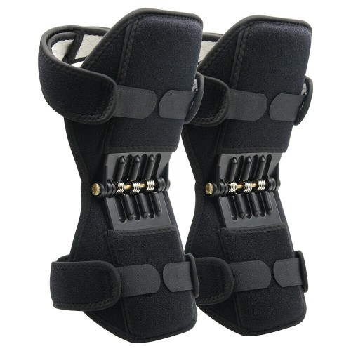 Joint Support Knee Lift Brace Spring Rebound for Hiking Climbing