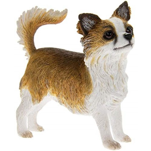Longhaired Chihuahua Figurine By Lesser and Pavey