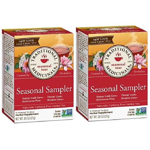 Traditional Medicinals Tea Seasonal Sampler 2 Box Pack