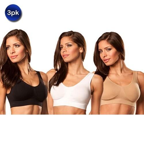 3-Pack: Rhonda Shear Ahh Bras