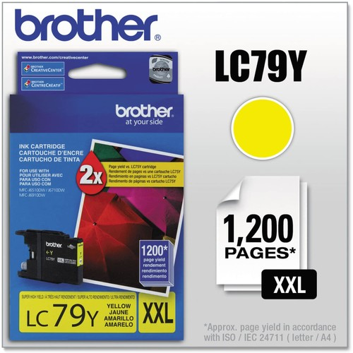 Brothers BRTLC79Y United STATIONERS (OP) Ink,Super HIGH YLD,YL