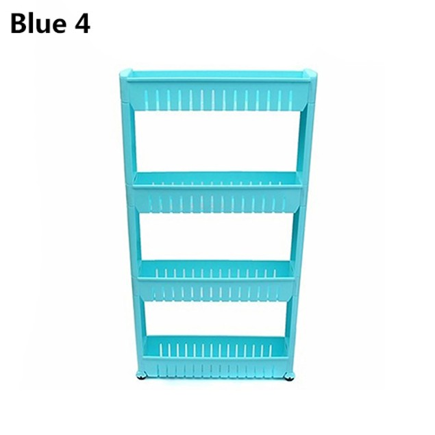 Kitchen Crevice Storage Shelf Bedroom Bathroom Storage Rack