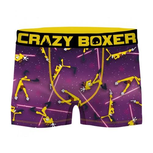 Goofy Movie Purple Powerline E5000 Men's Boxer Briefs Shorts