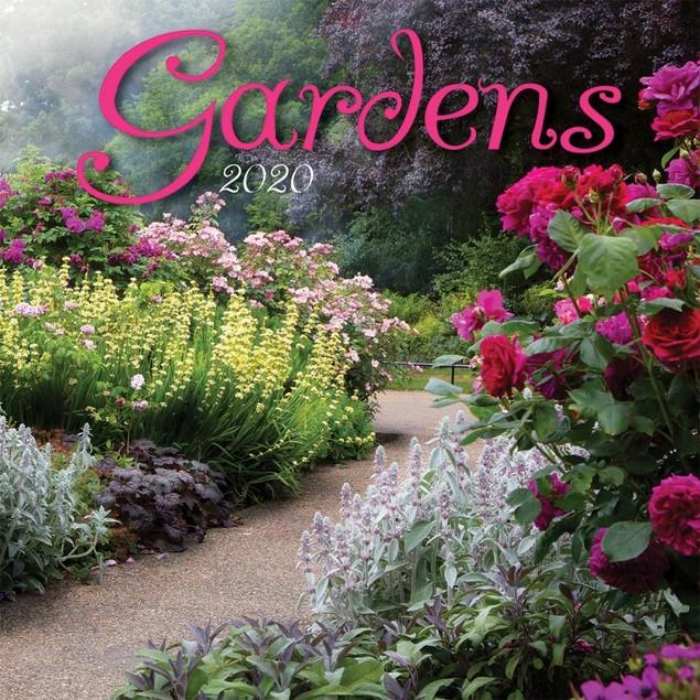 Gardens Wall Calendar, Gardens by Calendars