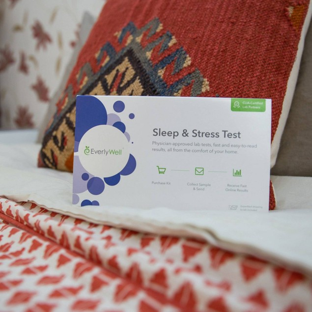 EverlyWell Helping Lifestyle Improvements CLIA Certified Sleep & Stress