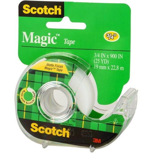 Scotch Magic Tape, Comes off the Roll Smoothly and Cuts Easily, 900 Inch