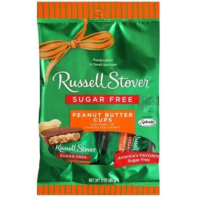 Russell Stover Chocolate Peanut Butter Cups Sugar Free