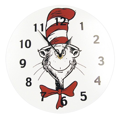 Trend Lab Wall Clock - Dr. Seuss Cat In The Hat