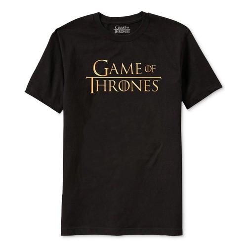 Ripple Junction Men's Game Of Thrones Men's Logo T-Shirt Black Size Small