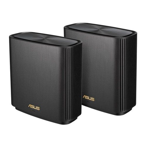 ASUS ZenWiFi AX Whole-Home Tri-band Mesh WiFi 6 System (XT8) - 2 pack - Black