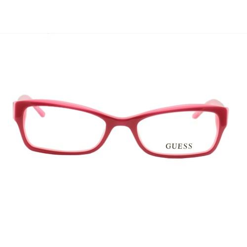 Guess Women's Eyeglasses GU2261 F18 Burgundy 51 17 130 Full Rim