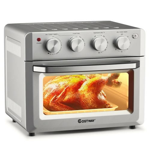 Costway 7-in-1 19 QT Air Fryer Toaster Oven