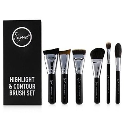 Sigma Beauty Highlight and Contour Brush Set