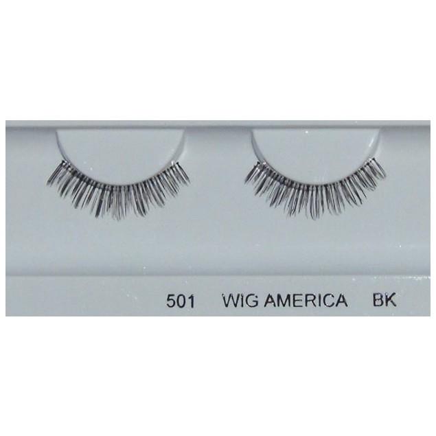 Wig America Premium False Eyelashes wig495, 5 Pairs