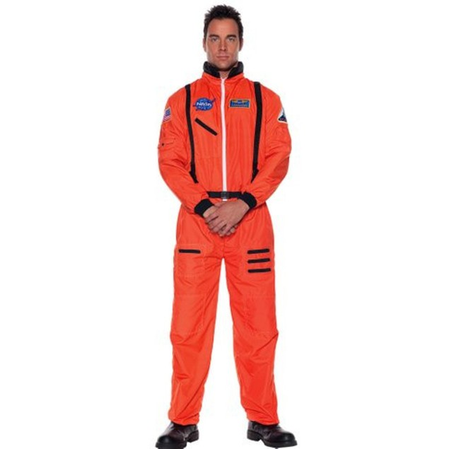 Astronaut Costume Orange
