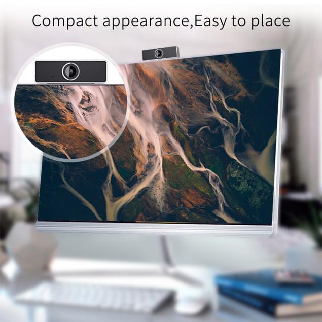 FHD 1080P Webcam USB PC Computer Webcam Auto Focus with Microphone