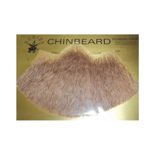 Blonde Human Hair Goatee Beard Human Hair Costume Halloween Accessory