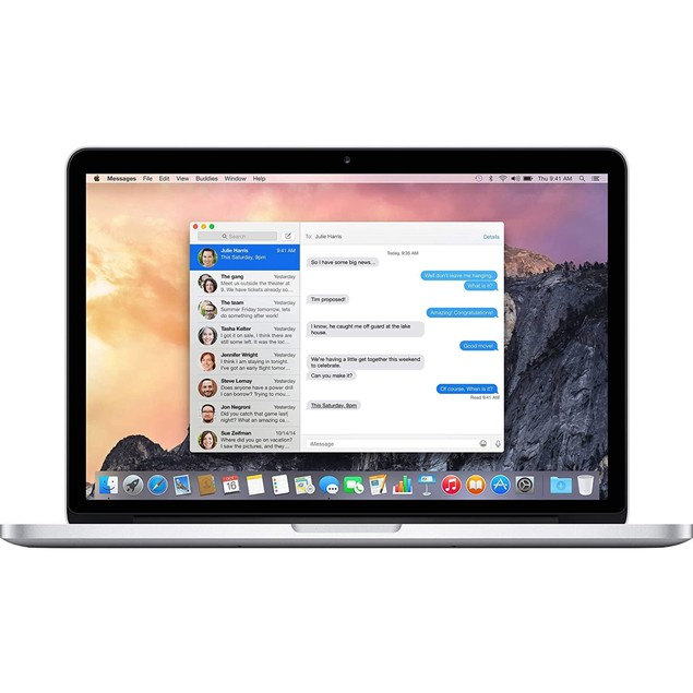 "Apple MacBook Pro MGXD2LL/A 13.3"" 256GB MacOSX, Silver (Refurbished)"