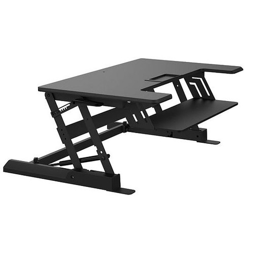 """Z Type Height Adjust Elevating Sit or Stand 6.5""""-16.3"""" in PC Workstation"""