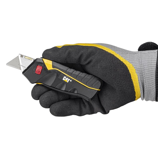 CAT Safety Squeeze Utility Knife - 240071