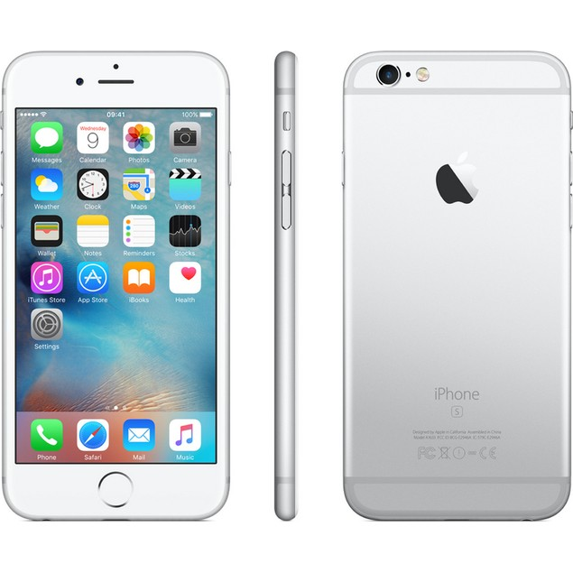 Apple iPhone 6s, AT&T, Silver, 32 GB, 4.7 in Screen