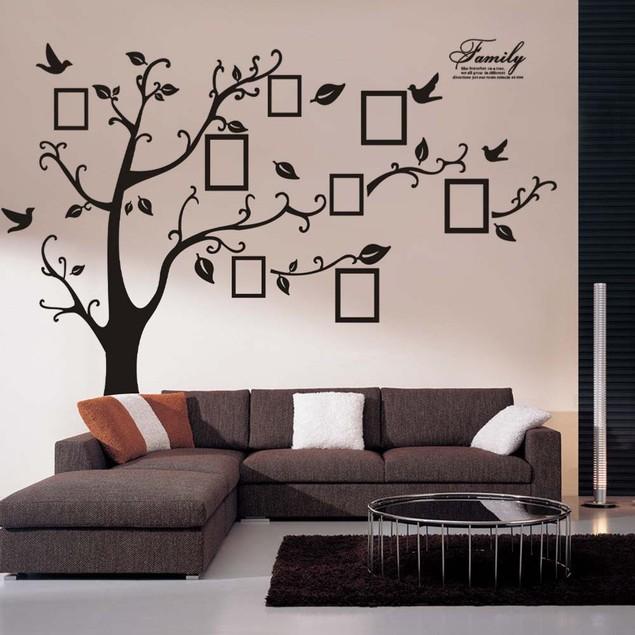 Family Tree DIY 3D PVC Wall Adhesive Sticker