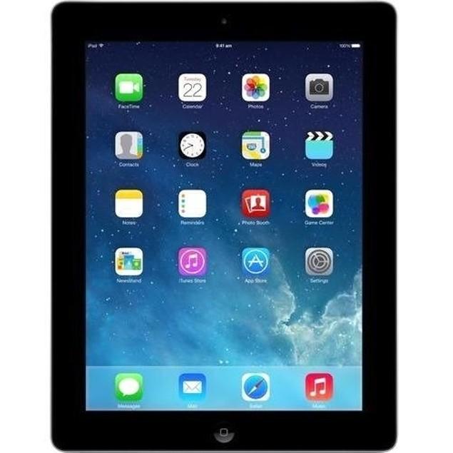 """Apple iPad 4 MD511LL/A 32GB Apple A6X X2 1.4GHz 9.7"""", Black (Refurbished)"""