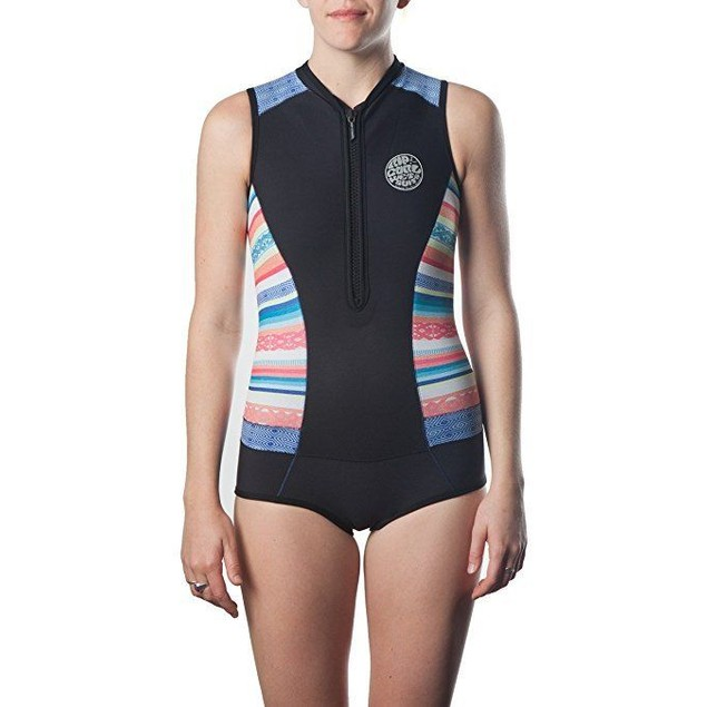 Rip Curl G Bomb Sleeve Less Bikini Sz: 8