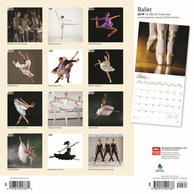 Ballet Wall Calendar, Dance | Theatre by Calendars