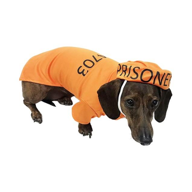 Midlee Orange Prisoner Costume