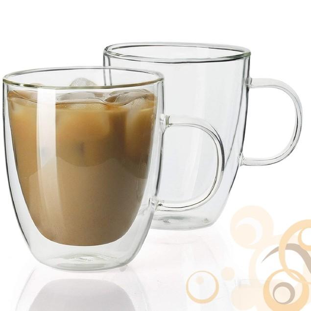 Homvare Mug for Both Hot and Cold Beverage - 12 oz