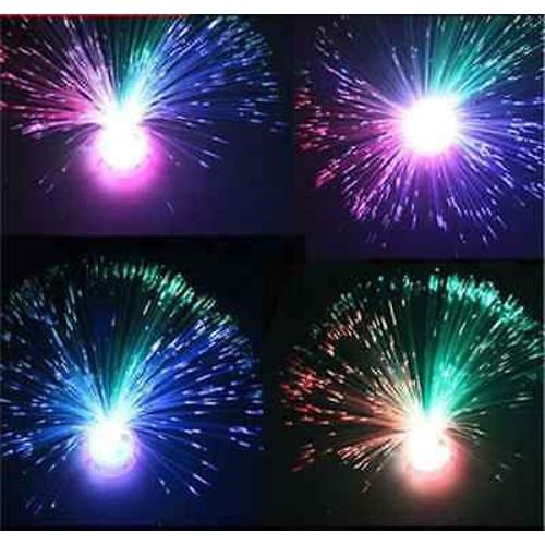 Multicolor Fiber Optic Lamp Light Holiday Wedding Centerpiece Fiberopt