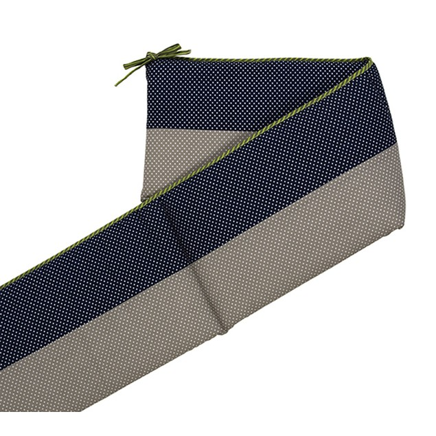 Trend Lab Perfectly Navy - Crib Bumpers