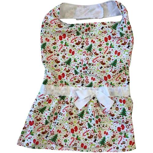 Midlee Christmas Motif Big Dog Dress