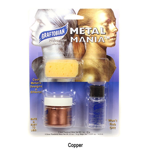 Metal Mania Copper Cosmetic Powdered Metals