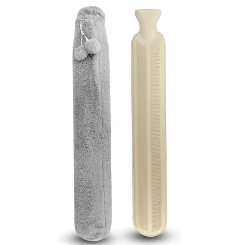Long Hot Water Bottle   Pukkr Grey