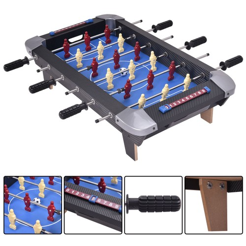 Costway Miniature 28'' Table Foosball Football Soccer Game Competition Spor