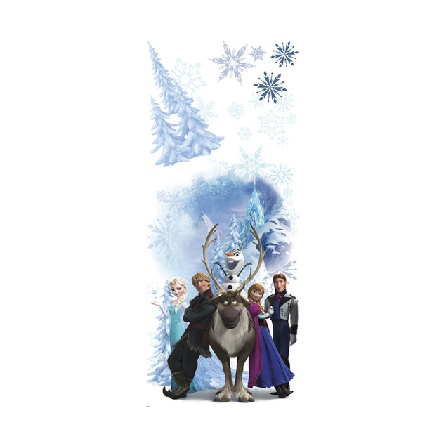 Roommates Baby Room Wall Decorative Disney Frozen Group Giant Wall Decals
