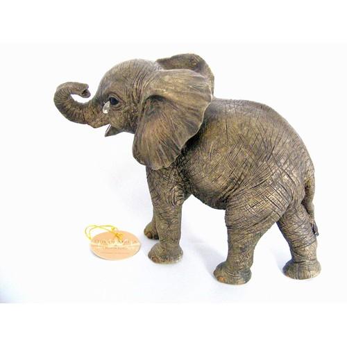 Elephant Teardrop 15cm Figurine By Lesser and Pavey