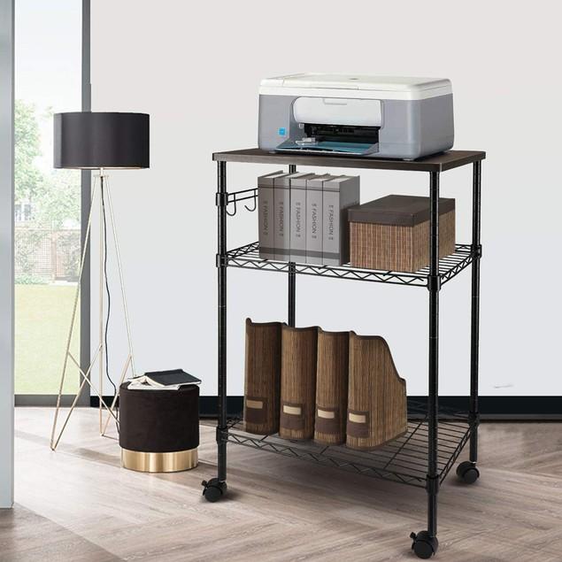 Multi-Purpose 3-Tier Kitchen Utility Cart