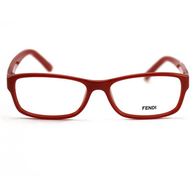Fendi Women's  Eyeglasses FF 961 611 Brick Frame Glasses 53 15 135