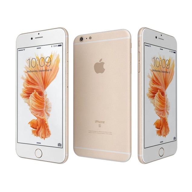 Apple iPhone 6s, AT&T, Gold, 16 GB, 4.7 in Screen
