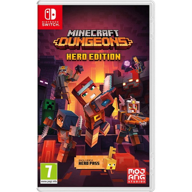 Minecraft Dungeons Nintendo Switch Game