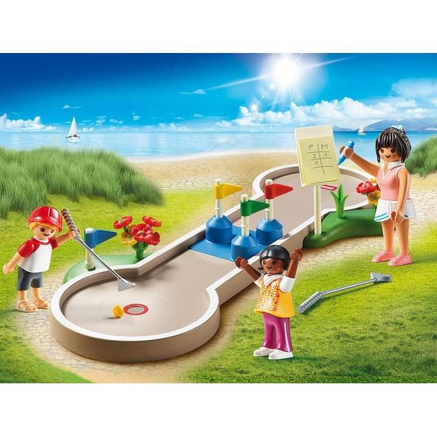 Playmobil Family Fun Campsite Mini-golf